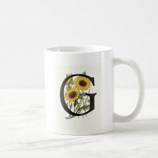 Monogram Daisy G Mug