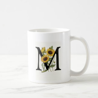 Monogram Daisy M Mug