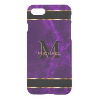 Monogram - Deep Purple Marble iPhone 7 Case