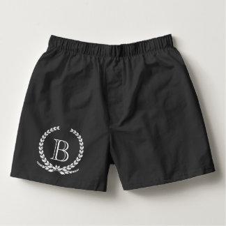 Monogram design boxers
