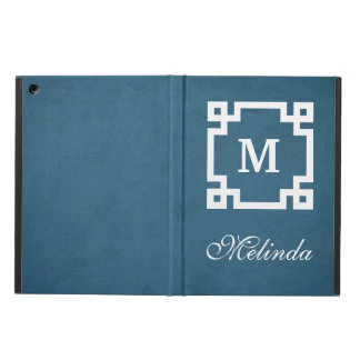 Monogram design cover for iPad air