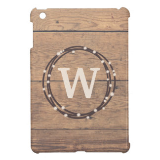 Monogram design cover for the iPad mini