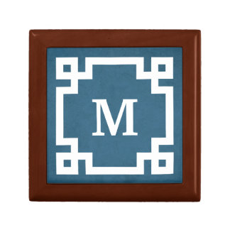 Monogram design gift box