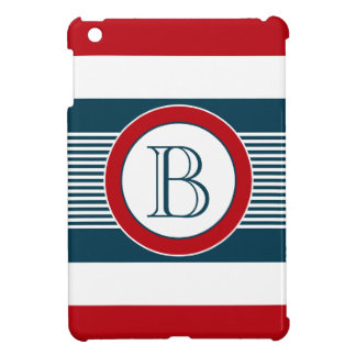 Monogram design iPad mini covers
