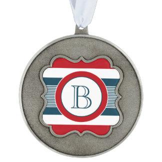 Monogram design ornament