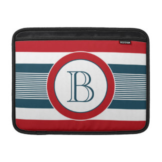 Monogram design sleeve for MacBook air