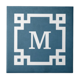 Monogram design tile