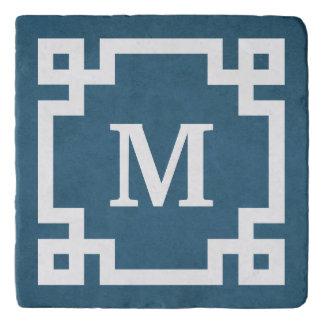 Monogram design trivet
