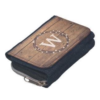 Monogram design wallet