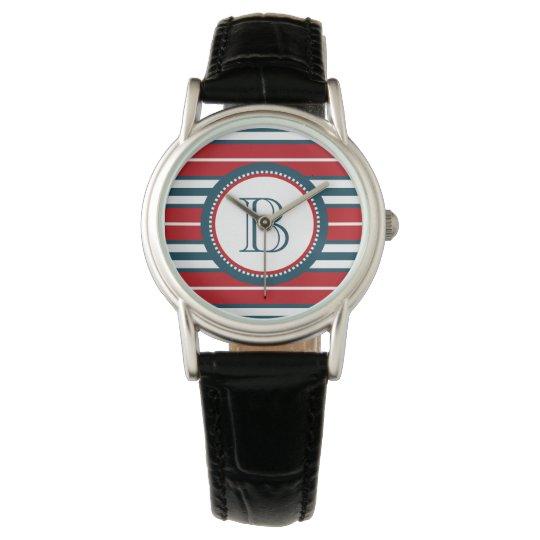Monogram design watches
