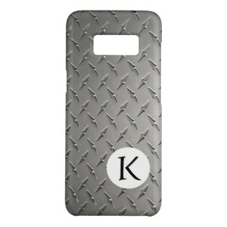 Monogram | Diamond Metal Background Case-Mate Samsung Galaxy S8 Case