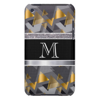 Monogram Diamonds Abstract Pattern Print Design iPod Case-Mate Case