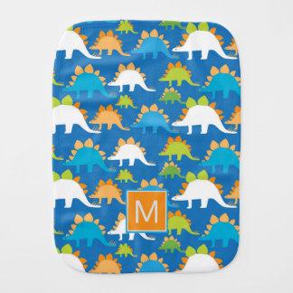 Monogram | Dinosaurs Burp Cloth