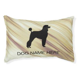 Monogram Dog Breed Pet Bed