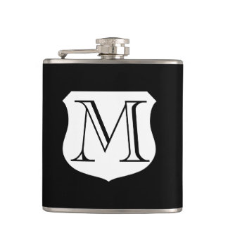 Monogram drink flask | personalizable gift for men