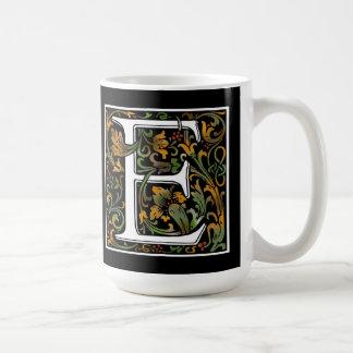 Monogram E Color Mug