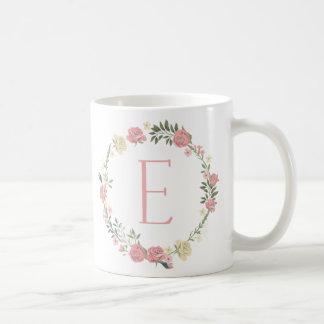 """Monogram """"E"""" Mug"""