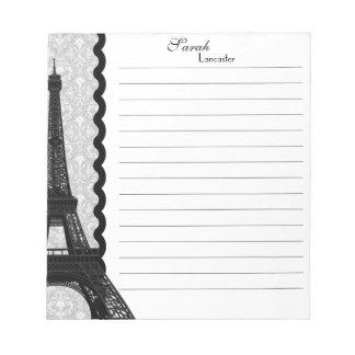 Monogram Eiffel Tower Note Pad