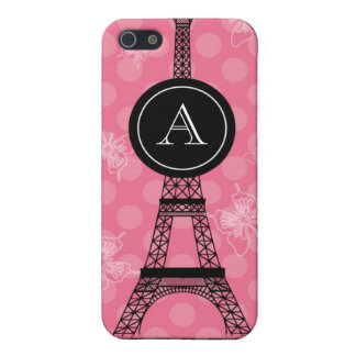 Monogram Eiffel Tower Speck Case Case For iPhone 5/5S