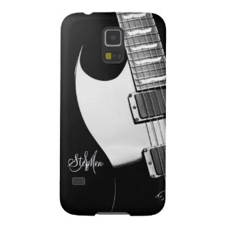 Monogram Electric Guitar Samsung Galaxy S5 Case