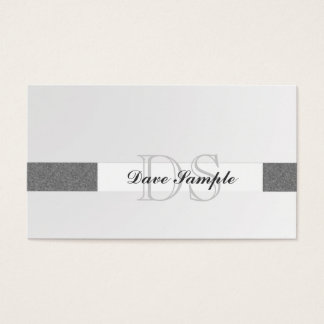 Monogram Exec Business Card