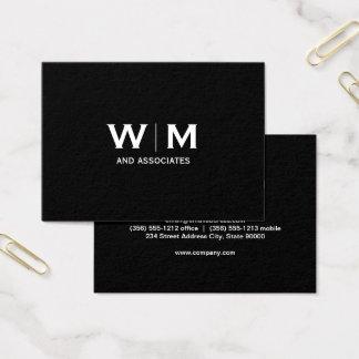 Monogram | Executive Business Card
