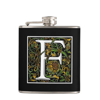 Monogram F Color Flask