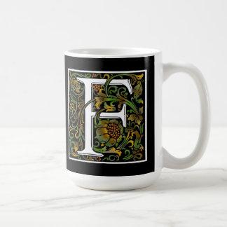 Monogram F Color Mug