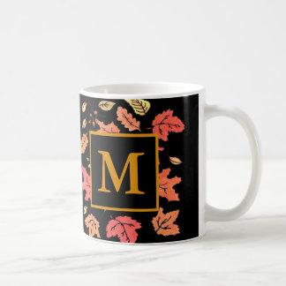 Monogram Fall Mug
