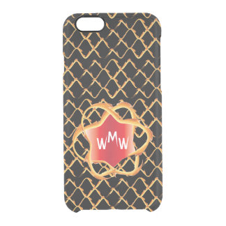 Monogram Flame Cell Phone Case