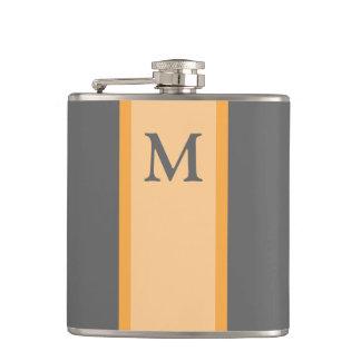 Monogram Flask Groomsman Gift