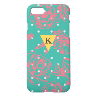 Monogram Floral Polka Dot iPhone 8/7 Case