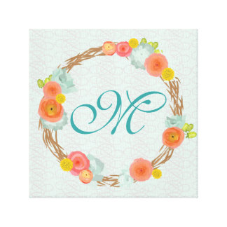 Browse the Monogram Canvas Print Collection and personalize by color, design, or style.