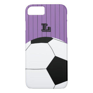 Monogram Football, Soccer iPhone 7 Case