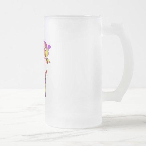 Monogram Frosted Mug