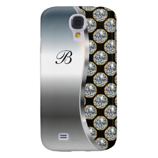 Monogram Galaxy S4 Bling Case