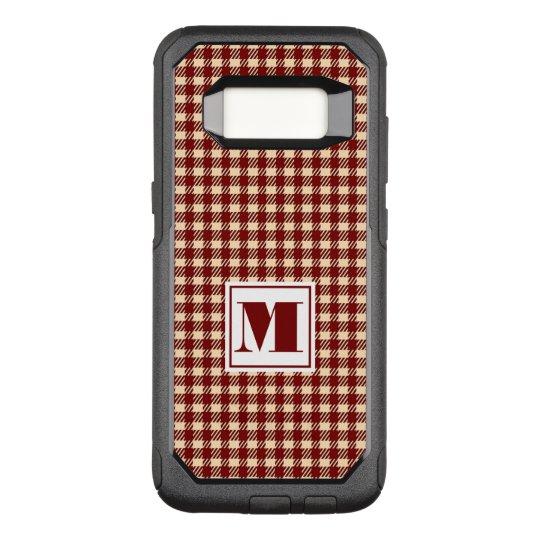 Monogram Gingham OtterBox Commuter Samsung Galaxy S8 Case