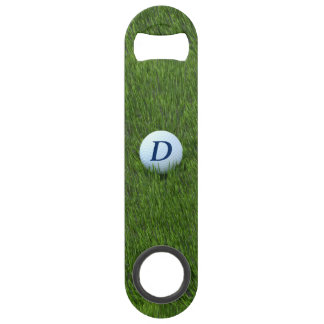 Monogram Golf Ball Bottle Opener for Golfing Dad Speed Bottle Opener