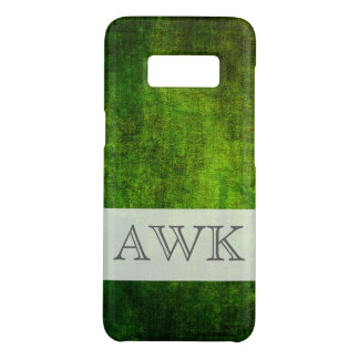 Monogram Green Texture Case-Mate Samsung Galaxy S8 Case