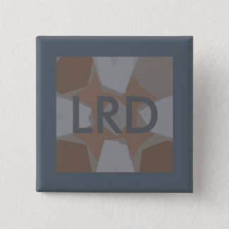 Monogram Grey Digital Art Pin