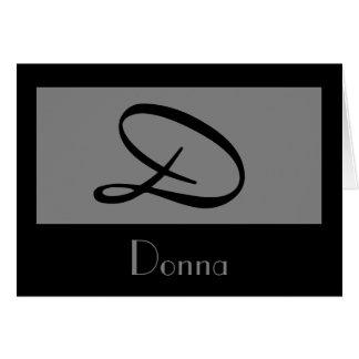 monogram grey  template