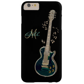 Monogram Guitar and Notes  iPhone 6 Plus Case