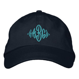 Monogram Hat Embroidered Hats