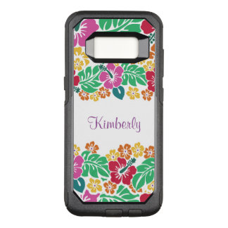 Monogram Hawaiian Style OtterBox Commuter Samsung Galaxy S8 Case
