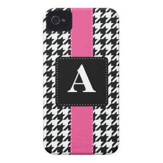 Monogram Houndstooth Case-Mate iPhone 4 Case