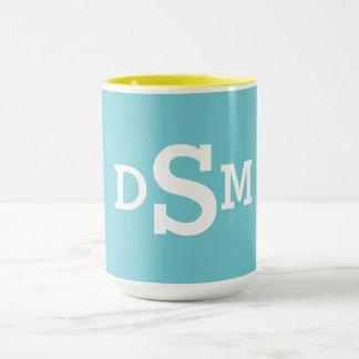 Monogram Initial Mug