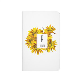 Monogram Initial Personalized Pocket Journal