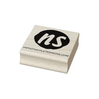 Monogram Initials Website   Rubber Stamps