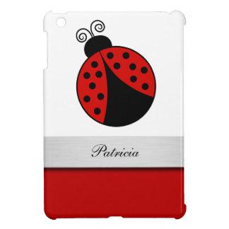 Monogram iPad Mini Case Ladybug