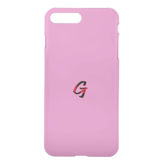 Monogram iPhone7 Plus Deflector Case in Pink